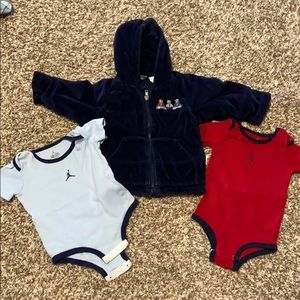 9-12Month Onesies and 12 month Jacket